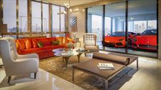 Home decor: The Hamilton Scotts sky garage penthouse Home Luxury, Luxury Homes, Luxury Cars, Luxury Estate, Luxury Lifestyle, Garage Design, House Design, Appartement New York, High Rise Apartments