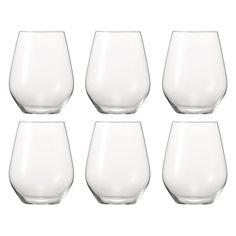 Authentis Casual Rødvinsglass 6-pakk, 46 cl, Spiegelau