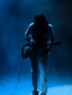 Adam Jones surrounded in blue Kinds Of Music, Music Love, Music Is Life, Tool Music, Maynard James Keenan, Adam Jones, Tool Band, School Of Rock