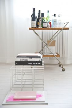 Like the bar cart