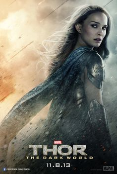 im putting this in this board cause she is SO an awesome person!! thor poster jane, So excited for tonight!! @Laura Jayson P  @Elizabeth Lockhart Pautsch