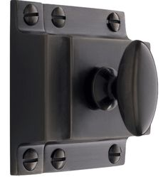 Large Oval Cupboard Latch in Oil-rubbed Bronze #kitchen hardware