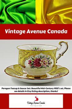 Teacup Flowers, Pink Flowers, Vintage Tea, Vintage Ceramic, Her Majesty The Queen, Tea Cup Saucer, Fine China, Tea Mugs, Teapots