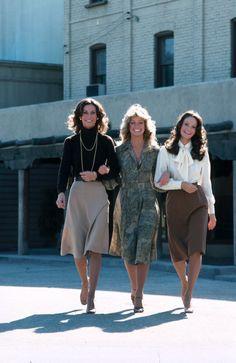 """Kate Jackson, Farrah Fawcett and Jaclyn Smith as """"Charlie's Angels"""""""