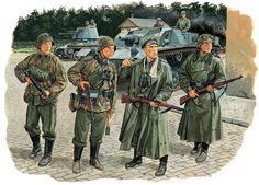 "1941 8 Oct.,"" Panzermeyer"" with the Leibstandarte in Mariupol"