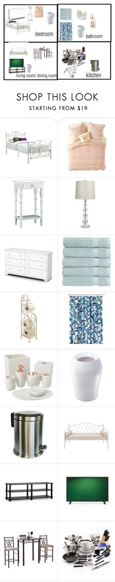 Basic Apartment Starter Kit By Gracemyprescence On Polyvore Featuring Interior Interiors