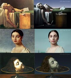 Lady Gaga Morphs Into Classic Paintings
