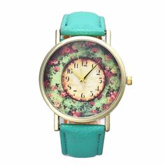 Reloj Mujer Pastorale Floral Clock Women Leather Band Watch Analog Quartz Dial Hour Wristwatch Lady Relogio Feminino #electronicsprojects #electronicsdiy #electronicsgadgets #electronicsdisplay #electronicscircuit #electronicsengineering #electronicsdesign #electronicsorganization #electronicsworkbench #electronicsfor men #electronicshacks #electronicaelectronics #electronicsworkshop #appleelectronics #coolelectronics