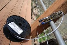 DIY Cable Railing. Just might try it.