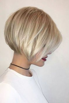 Charming Short Hairstyles with Bangs Specially for You ★ See more: lovehairsty., Frisuren,, Charming Short Hairstyles with Bangs Specially for You ★ See more: lovehairsty. Bob Haircut For Fine Hair, Short Hair With Bangs, Short Hair Cuts For Women, Thick Hair, Hair Styles For Short Hair Bob, Hair Bangs, Short Styles, Bob Hairstyles For Fine Hair With Fringe, Bobs For Fine Hair