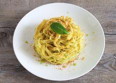Tagliatelle al limone, menta e peperoncino ricetta