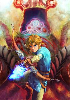 Link? Or Someone else? Either way, this art is cool.