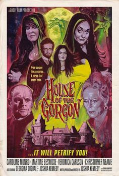House of the Gorgon is a forthcoming 2018 American horror film written, produced and directed by Joshua Kennedy (The Night of Medusa; Dracula A.D. 2015). It stars Caroline Munro, Martine Beswicke, …