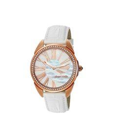 Pierre Cardin White Analog Watch #ohnineone #watch #timepiece #pierrecardin