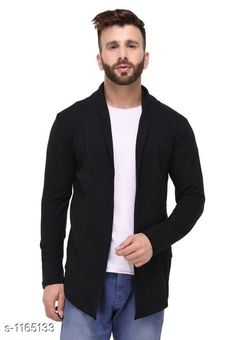 Cardigan Stylish Cotton Cardigan  *Material* Cotton  *Size* S - 38in, M - 40in, L - 42in, XL - 44in, XXL - 46 in  *Sleeves* Full Sleeve  *Type* 30in  *Fitting Type* Slim Fit  *Occasion* Casual  *Wash Care* Machine Wash. Wash with Similar color  *Sizes Available* S, M, L, XL, XXL *   Catalog Rating: ★4 (377)  Catalog Name: Full Sleeve Cotton Cardigan CatalogID_145277 C70-SC1401 Code: 243-1165133-