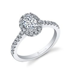Classic Oval Diamond Engagement Ring