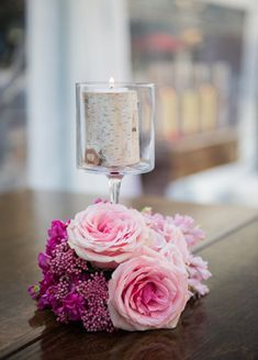 #knotsandhearts | Pink Centerpieces | #wedding #flowers