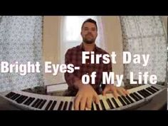 Recessional option - Bright Eyes- First Day of My Life (piano cover)