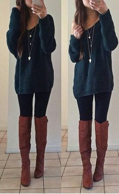 Thanksgiving Outfit ideas Try Stitch fix this Holiday Season. Fall 2016 inspiration photo for stitch fix. Thanksgiving Outfit ideas Try Stitch fix this Holiday Season. Fall 2016 inspiration photo for stitch fix. Cute Thanksgiving Outfits, Cute Fall Outfits, Fall Winter Outfits, Outfits For Teens, Casual Outfits, Cute Legging Outfits, Lazy Outfits, Casual Winter, Christmas Outfits