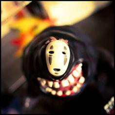 カオナシ :D ! Movie Tv, Halloween Face Makeup, Cartoon, Photo And Video, Characters, Books, Libros, Figurines, Book