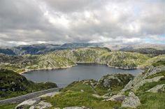 setesdal norway map | Panoramio - Photo of hochlandstrasse Setesdal Lysefjord