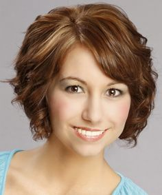 Short Curly Hairstyles 2012 Design