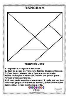 Tangram para imprimir + sugestões de montagem e regras do jogo! - ESPAÇO EDUCAR
