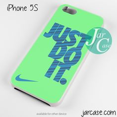 Awesome nike just do it green Phone case for iPhone 4/4s/5/5c/5s/6/6 plus