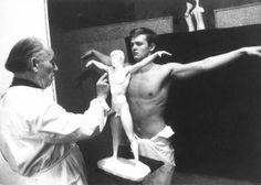 Arno Breker portraying Walter Kusch, 1960s