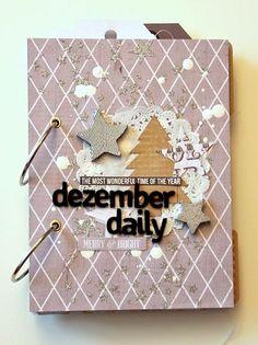 :: danipeuss.de :: BLOG: Tutorial: December Daily von Nadine mit dem Dezember-Tagebuch Minialbum Kit