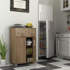 Housefull Benin Kitchen Cabinet Walnut