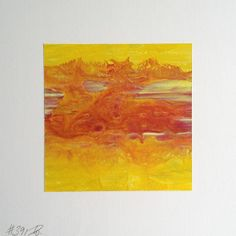 #391 | square abstract painting (original) | acrylic on white board | size 9 cm x 9 cm | boardsize 15 cm x 15 cm | https://www.etsy.com/shop/quadrART