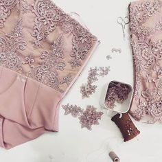 ANA clothing (@atelieranaclothing) • Instagram photos and videos Lace Body, Lovely Shop, Dusty Pink, Hand Sewing, Custom Made, Gowns, Photo And Video, Videos, Clothing