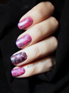 stamping nail art TU-L9