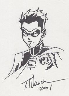 batman robin comic art todd nauck pinterest robin comics batman robin and batman