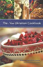The New Ukrainian Cook Book  The author explores the cuisine of her ancestors, delving into its origins and history and continuing the story into present-day Ukaine. From classics like regional borshch to chicken Kyiv and holubtsi, to lesser-known choices -v there is something for every palate! Over 200 recipes, easyu-to-follow. Scattered amongst the easy-to-follow recipes are quotes, poems, historical facts, etc. $29.95