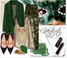 Zestaw ubrań go wild in green  Outfit in green