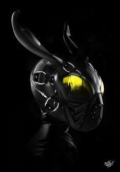 FANTASMAGORIK® BLACK RABBIT MASK on Digital Art Served