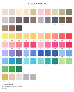 Seasonal colour analysis can be a useful way to start the developing process of your personal colour palette for your wardrobe. Light Spring Palette, Spring Color Palette, Colour Pallete, Spring Colors, Colour Schemes, Colour Chart, Warm Colors, Light Colors, Pastel Colours