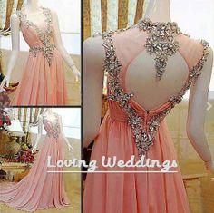 Fashion beaded bridesmaid dress wedding party by LovingWeddings, $155.00  Maybe too much beading