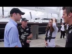 Royal Tour 2014 to New Zealand and Australia. A video of William and Kate after a boat race