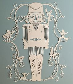 To celebrate World Ballet Day we thought we'd share some past work from our artists based on this beautiful art form! The Sugar Plum Fairy by Shobhna Patel The Nutcracker papercut by Shobhna Patel. Nutcracker Image, Nutcracker Christmas, Christmas Art, Father Christmas, Christmas Ideas, Christmas Decorations, Xmas, Winter Illustration, Christmas Illustration