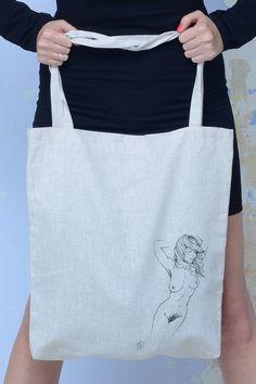 Plátěná taška s potiskem z kolekce Prokletých básníků