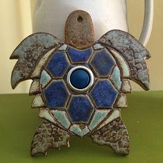 Sea Turtle Doorbell by stoneleaftile on Etsy