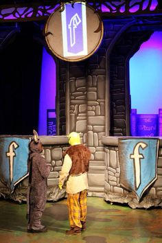 Shrek the Musical Set Design