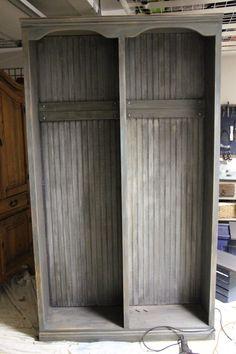 Mud room locker Restoration Hardware look