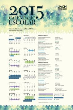 Calendario UACM 2015 Bullet Journal, Words, 2015 Calendar, Mexico City, Horse
