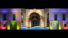 3. Projection Mapping Animation - MCAST & V18 Architectural 3D Christmas...