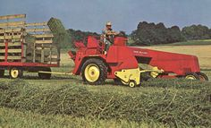 Sperry-New Holland self propelled baler. http://www.toytractortimes.com