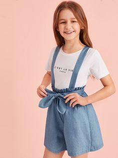 Teenage Girl Outfits, Girls Fashion Clothes, Dresses Kids Girl, Little Girl Outfits, Kids Outfits Girls, Cute Girl Outfits, Tween Fashion, Cute Outfits For Kids, Teen Fashion Outfits